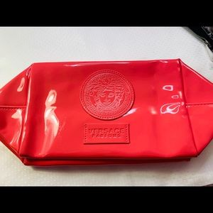 Versace cosmetic bag / large / new